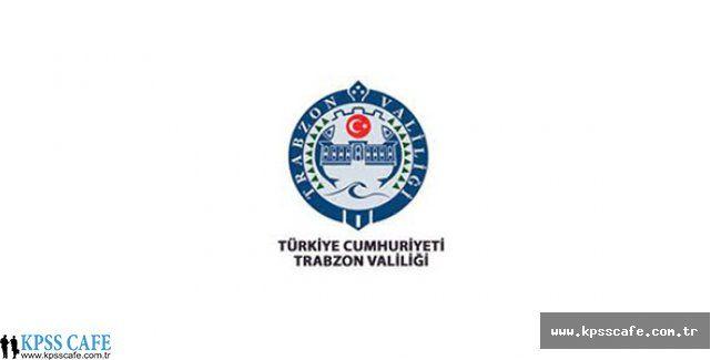 Trabzon Çarşıbaşı SYDV Personel Alım İlanı