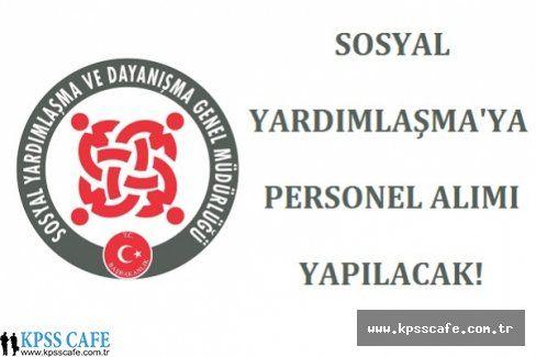 SYDV Konya Derebucak Personel Alım İlanı