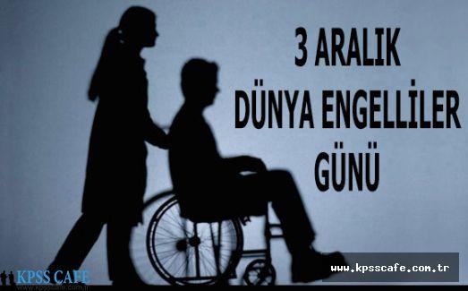 3 Aralık'ta Engelli Kamu Personeli İzinli Sayılacak