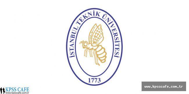 İstanbul Teknik Üniversitesi Öğretim Üyesi Alım İlanı