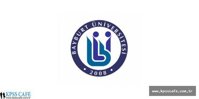 Bayburt Üniversitesi Avukat Alım İlanı
