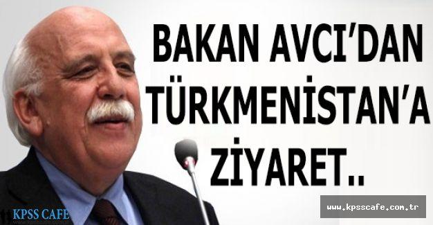 Bakan Avcı'dan Türkmenistan'a Ziyaret