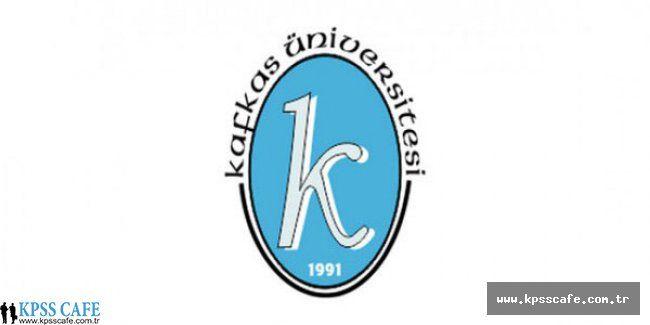 Kafkas Üniversitesi Öğretim Elemanı Alacak