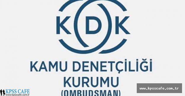 Devam Etmekte Olan Disiplin Soruşturmasında Evrak Örneği Talebine KDK'dan Yanıt