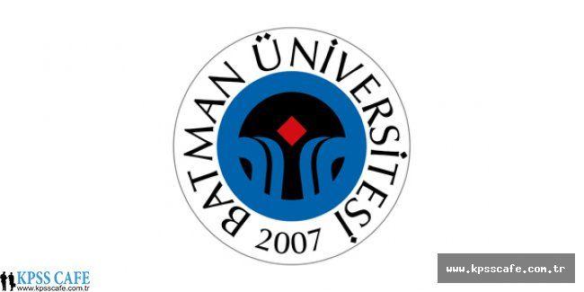 Batman Üniversitesi İç Denetçi Alacak