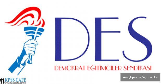 DES'den Eğitim Çalışanlarının Sorunları Açıklaması