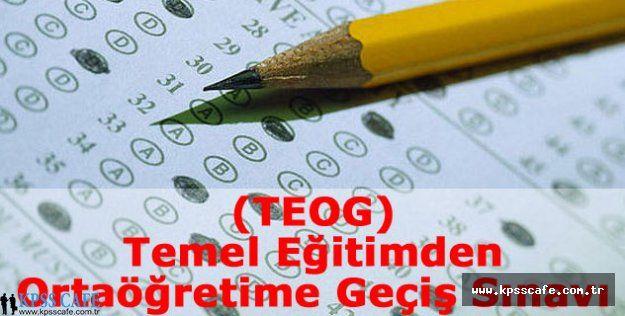 TEOG Mazeret Sınavları Hafta Sonu Yapılacak