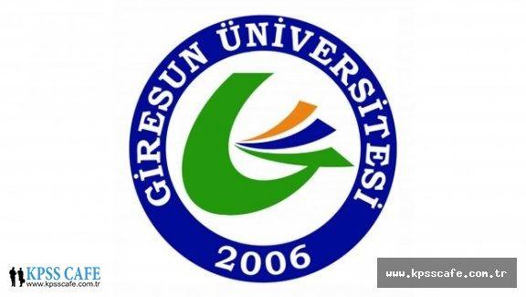 Giresun Üniversitesi Sözleşmeli Personel Alacak