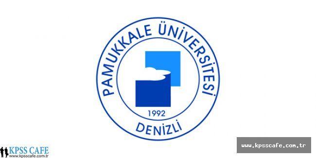 Pamukkale Üniversitesi Öğretim Üyesi Alım İlanı