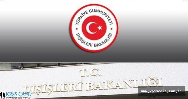 Dışişleri Bakanlığı Cezayir Büyükelçiliği Sözleşmeli Sekreter alacak