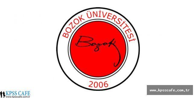 Bozok Üniversitesi 15 Sözleşmeli Personel Alacak