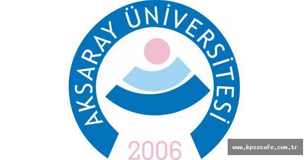 Aksaray Üniversitesi Akademik Personel Alacak