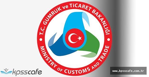 Gümrük ve Ticaret Bakanlığı Çok Sayıda Açıktan Personel Alımı Yapacak