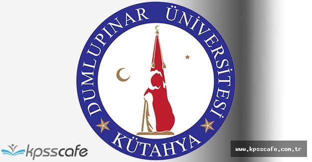 Dumlupınar Üniversitesi Eğitim Bilimleri Enstitüsü Yüksek Lisans ve Doktora Programı Yayımlandı