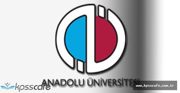 Anadolu Üniversitesi Kısmi Zamanlı Öğrenci Alımı