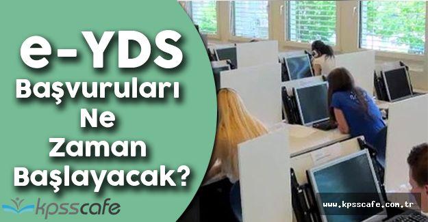 Elektronik Yabancı Dil Sınavı 2016/7 Başvuruları Ne Zaman Başlayacak?