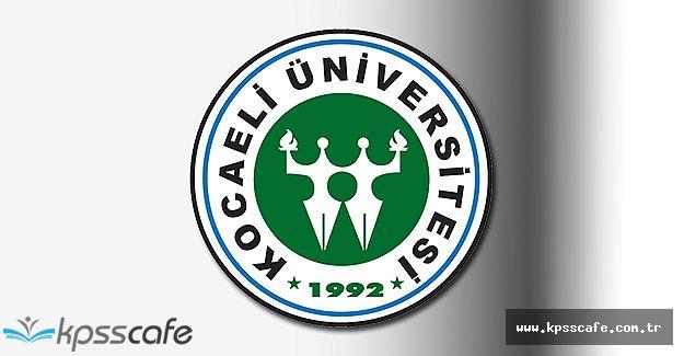 Kocaeli Üniversitesi Öğretim Görevlisi Alımı Yapıyor