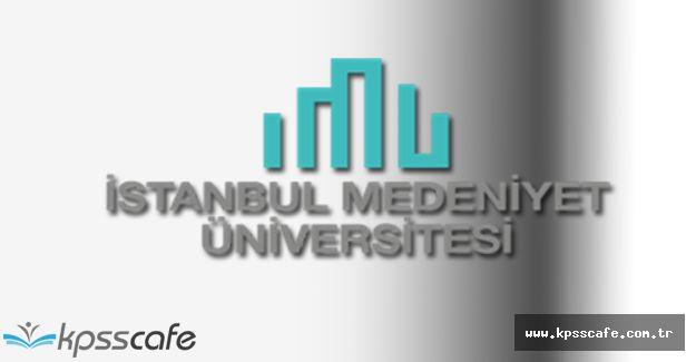 İstanbul Medeniyet Üniversitesi Fen Bilimleri Enstitüsü Yüksek Lisans ve Doktora Programı Yayımlandı