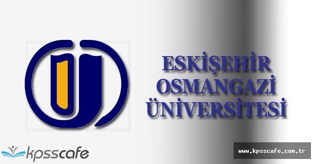 Osman Gazi Üniversitesi Öğretim Görevlisi Alımı 2016
