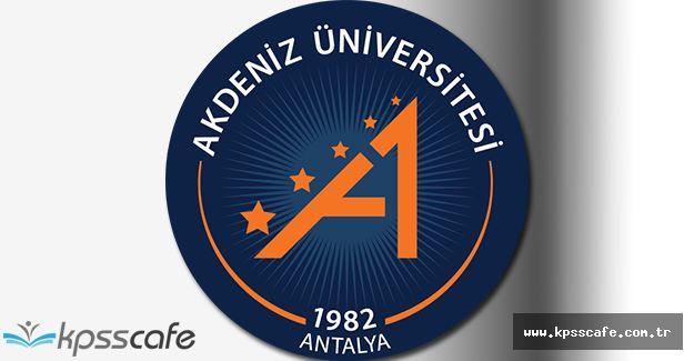 Akdeniz Üniversitesi, Çok Sayıda Öğretim Üyesi Alımı Gerçekleştirecek