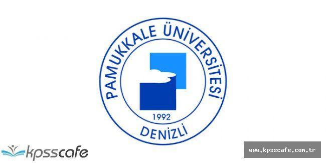 Pamukkale Üniversitesi 18 Sözleşmeli Personel Alım İlanı 2016