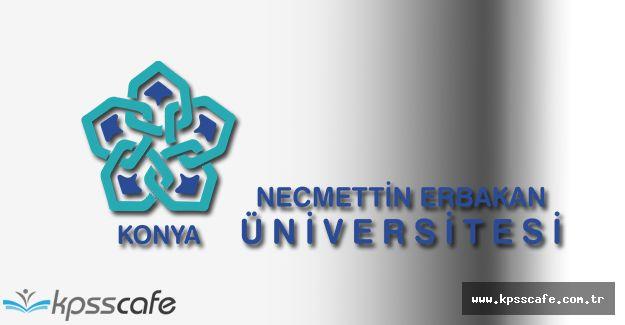 Necmettin Erbakan Üniversitesi Sosyal Bilimler Enstitüsü Yüksek Lisans ve Doktora Program İlanı
