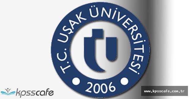 Uşak Üniversitesi Çok Sayıda Öğretim Üyesi Alımı Gerçekleştirecek