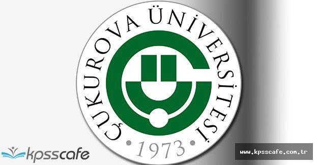 Çukurova Üniversitesi Kamu Personeli Alımı Gerçekleştirecek