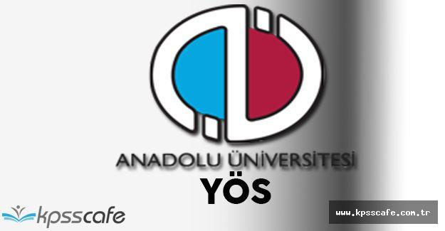 ANADOLUYÖS Sınav Giriş Belgeri Yayımlandı