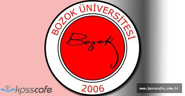 Bozok Üniversitesi Öğretim Üyesi Alıyor