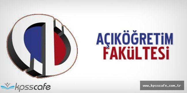 Anadolu Üniversitesi AÖF Tek Ders Sınavları Hangi Tarihte Uygulanacak ?