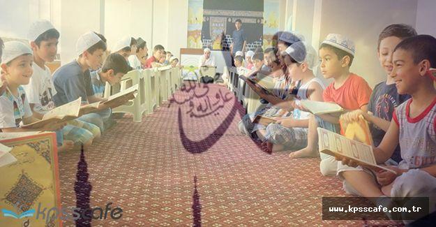 Küçükler İçin Kur'an Kursları Başladı