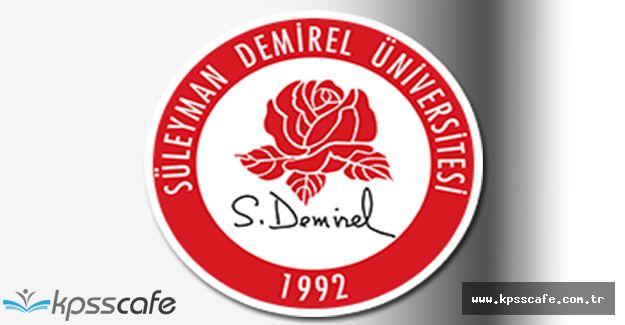 Süleyman Demirel Üniversitesi Çok Sayıda Akademik Personel Alıyor