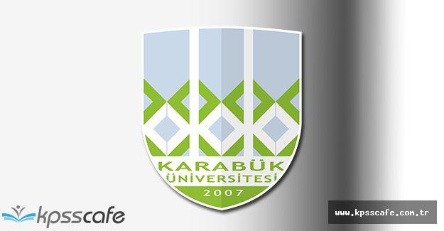 Karabük Üniversitesi Öğretim Üyesi Alacak