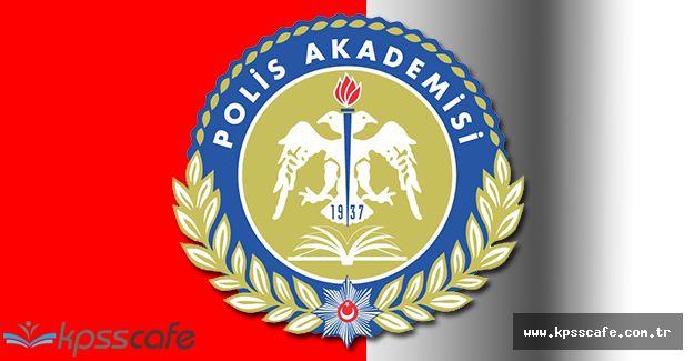 Polis Akademisi 2016 Rütbe Terfi Sınav Sonuçlarını Açıkladı