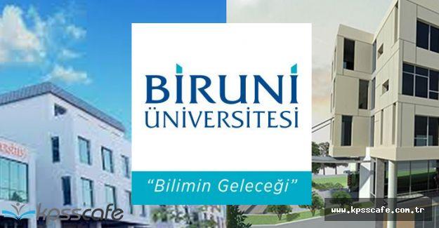 Biruni Üniversitesi Eğitim Öğretim ve Sınav Yönetmeliği Yayımlandı