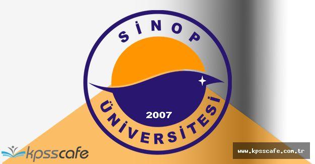 Sinop Üniversitesi Öğretim Elemanı Alacak