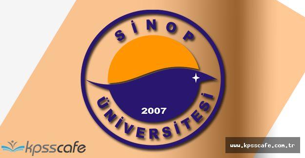 Sinop Üniversitesi 7 Öğretim Üyesi Alacak