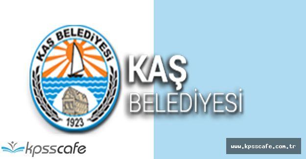 Kaş Belediyesi Makam Şoförü Alacak