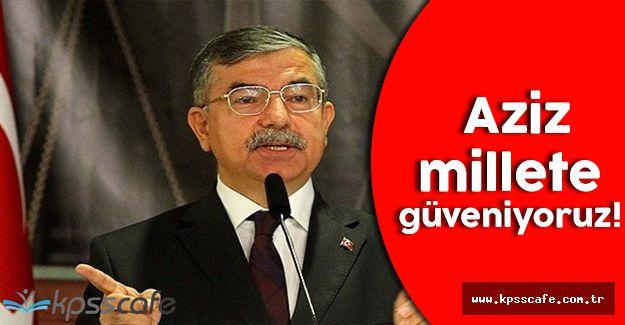 Milli Eğitim Bakanı; ''800.000 insanımıza iş sağladık''