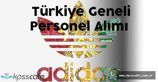 Adidas Türkiye Geneli Personel Alacak