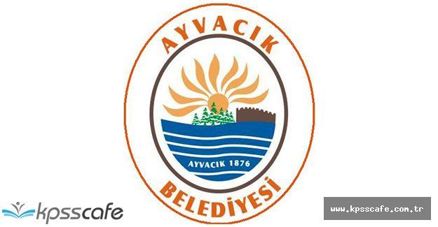 Ayvacık Belediye Başkanlığı Sözleşmeli Personel Alıyor