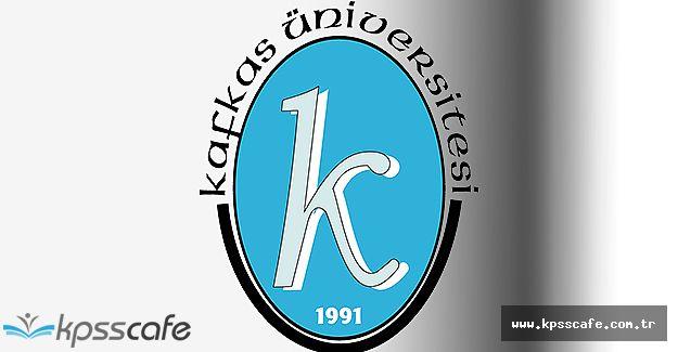 Kafkas Üniversitesi Öğretim Üyesi Alımı Yapıyor
