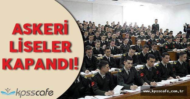 Askeri Okullar Kapandı! Peki Askeri Okul Öğrencileri Ne Olacak?