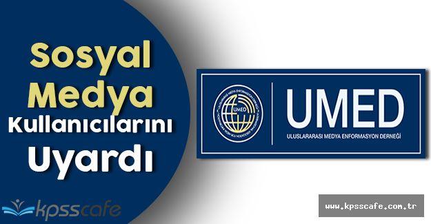 Uluslararası Medya Enformasyon Derneği, OHAL Döneminde Sosyal Medya Kullanıcılarını Uyardı!