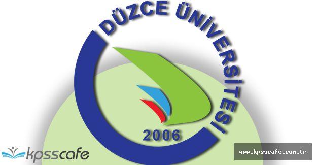 Düzce Üniversitesi Deprem Uygulama ve Araştırma Merkezi Yönetmeliği Yayımlandı!