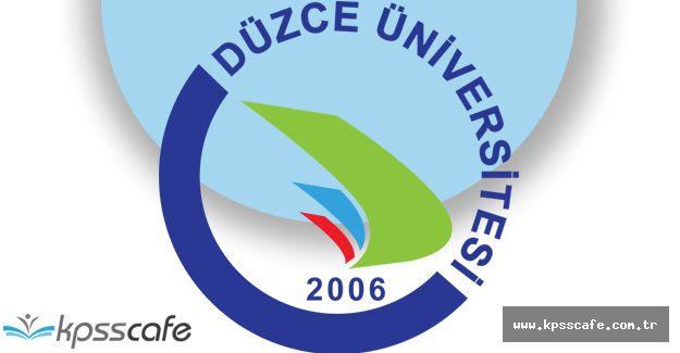 Düzce Üniversitesi Su Altı Çalışmaları Uygulama ve Araştırma Merkezi Yönetmeliği Resmi Gazete'de