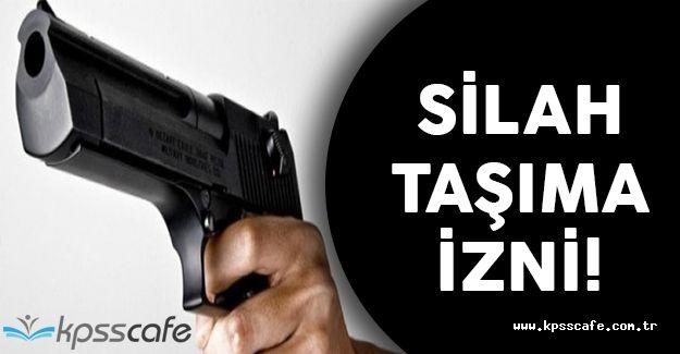 Üniversite Öğrencilerine Silah Taşıma İzni Verildi!