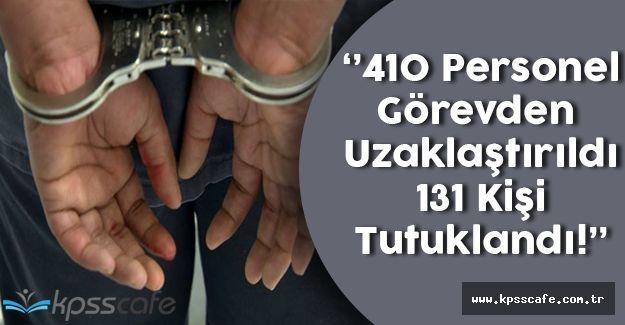 Tekirdağ Valiliği; ''207 Kişiden 131'i Tutuklandı!''