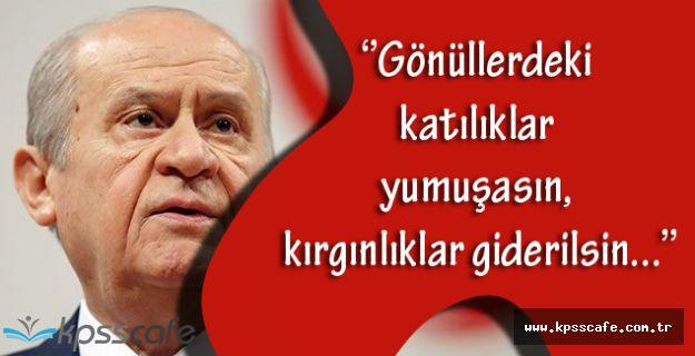 MHP Genel Başkanı'nın Bayram Mesajı!